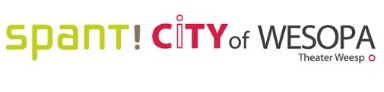 logo's van Spant! en City of Wesopa